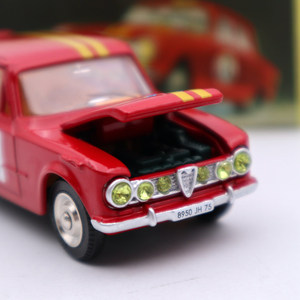 Image 2 - 1:43 Atlas Dinky Toys 1401 ALFA ROMEO 1600 TI Rally #8 Diecast Models Limited Edition Collection