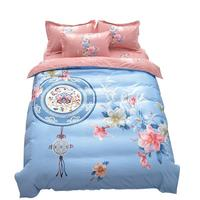 Edredon Luxury Couvre Lit Luxe Matrimonio Ropa Lencoes Nordico Cotton Bed Roupa De Cama Bedding Sheet And Quilt Cover Set