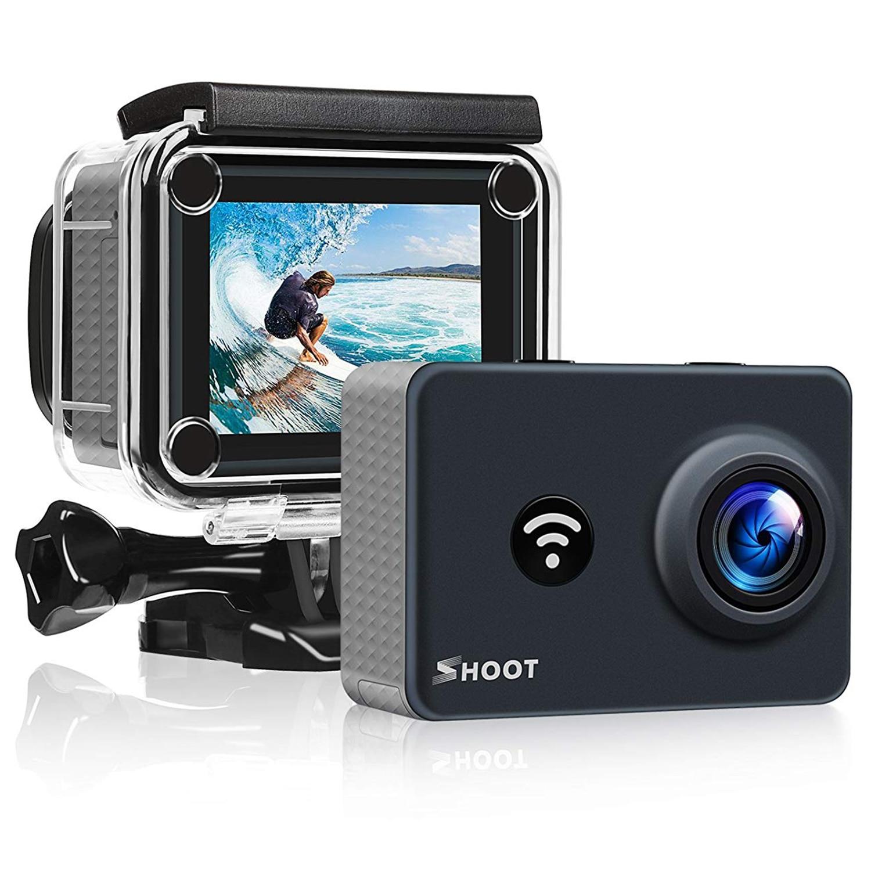 Caméra d'action de prise de vue 14MP 4 K WiFi 170 degrés Ultra grand Angle objectif extérieur 1080 P caméra de sport