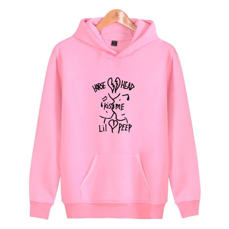 lil peep hellboy 2019 Fashion Hoodies Men Hip Hop Mens Brand Solid hooded  Hoodie Sweatshirt Men e7f4c9c3e71f