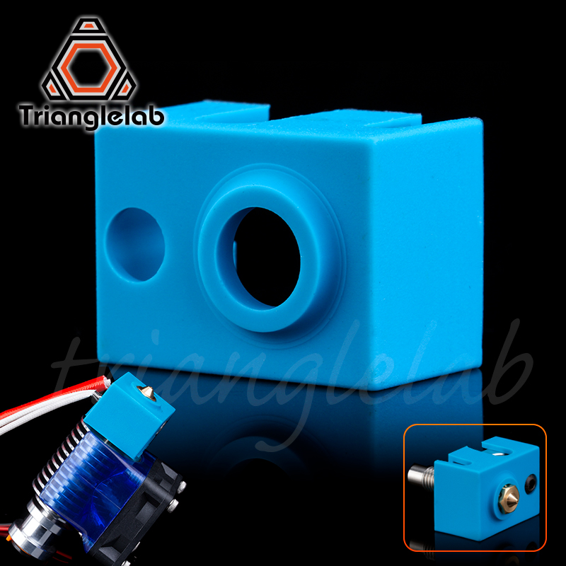 Trianglelab Super High Quality Cartridge Heater Bock Silicone Socks  V6 Socks For PT100 Heated Block For V6 PT100 Hotend  Nozzle