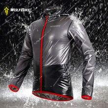 WOSAWE – manteau imperméable et coupe-vent pour Sports de plein air, veste de cyclisme, maillot de course de vélo, ultraléger, gris/bleu/vert