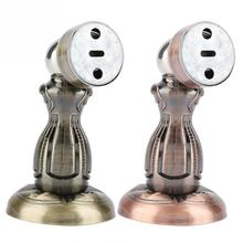 Stainless Steel Door Stopper Strong Magnetic Door Stop Home Doors  Stopper Safety Catch Door Hardware Accessories High Quality anho stainless steel strong magnetic door stop stopper bathroom bedroom toilet door wall suction fitting screw hardware