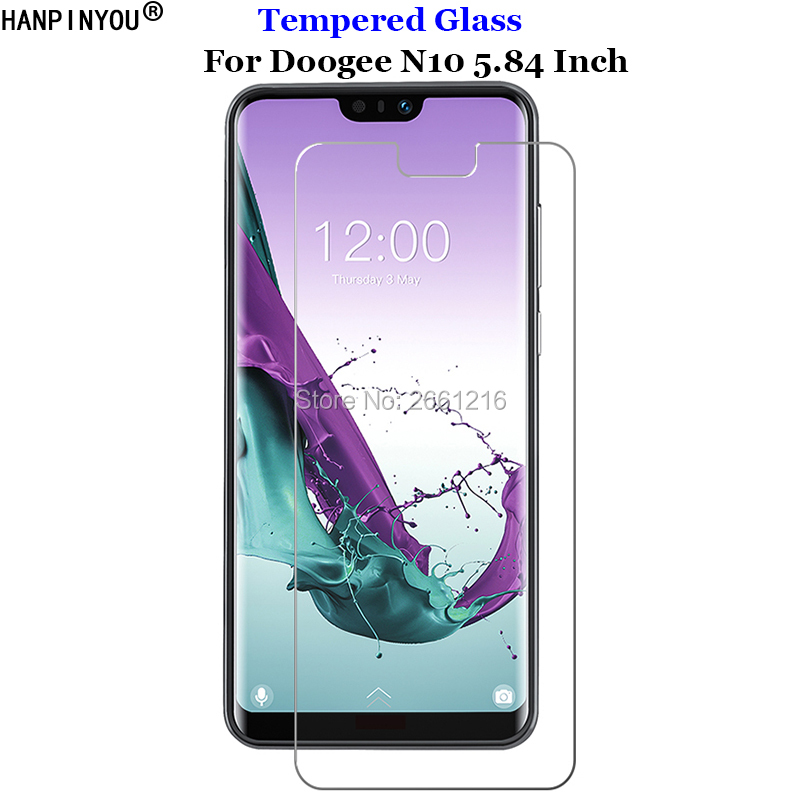 For Doogee N 10 Tempered Glass 9H 2.5D Premium  Screen Protector Film For Doogee N10 5.84