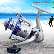 Bearing AL Portable Metal Fishing Reel Wheel Kit Set W/Sea Rod Spinning Boat Rock Outdoor 12 Balls D30