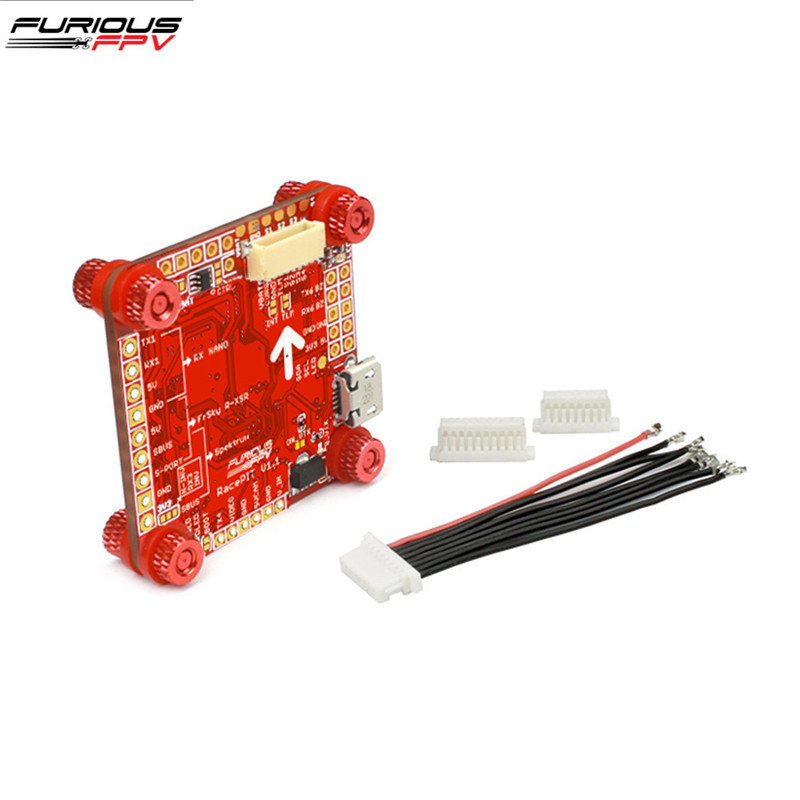 FuriousFPV Racepit F4 Flight Controller AIO OSD 5V BEC & Black Boxes for RC Drone FPV Racing Models Spare Parts DIY Accessories