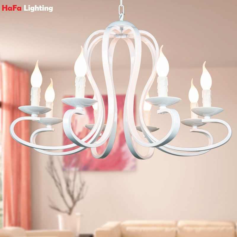 Modern Iron Pendant Lights Rustic Black