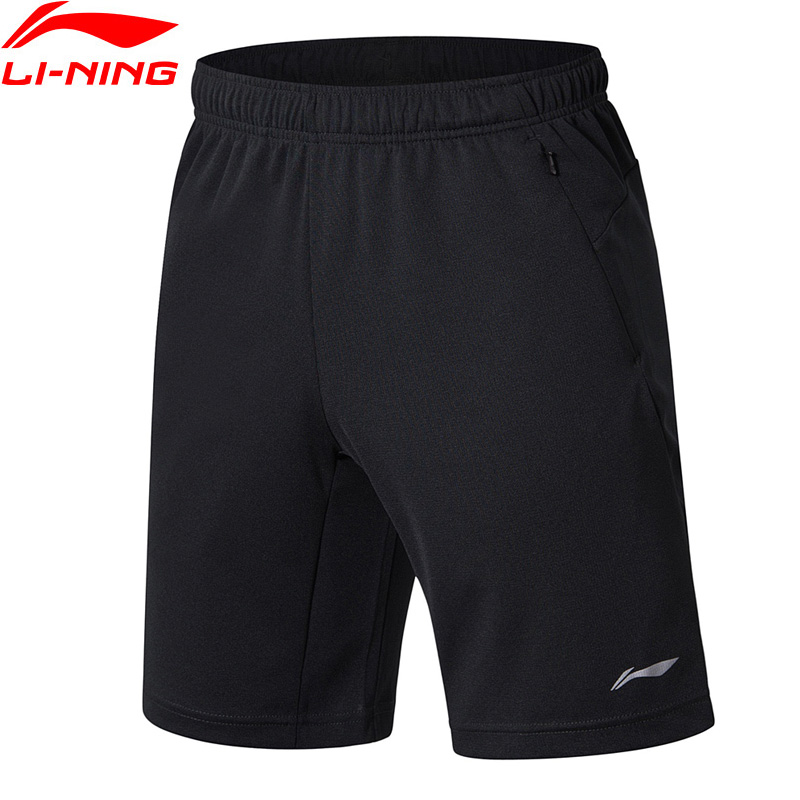 (Clearance)Li-Ning Men Training Shorts Breathable AT DRY Regular Fit LiNing Sports Shorts AKSN103 MKD1561(China)