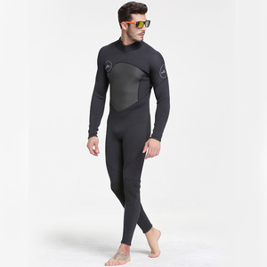 Image 3 - Extra Large Plus Size 3XL One Piece Close Body Wetsuit 3MM Neoprene Mens Full Long Suit Keep Warm Jumpsuit Diving Scuba Surfing