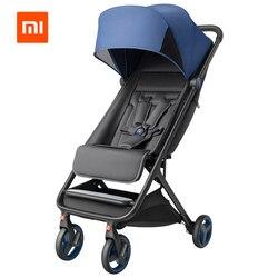 Xiaomi Opvouwbare Kinderwagen Auto Lichtgewicht Draagbare Trolley Een Hand Controle Vier-Seizoen Gebruik Schokbestendigheid Baby wandelwagen