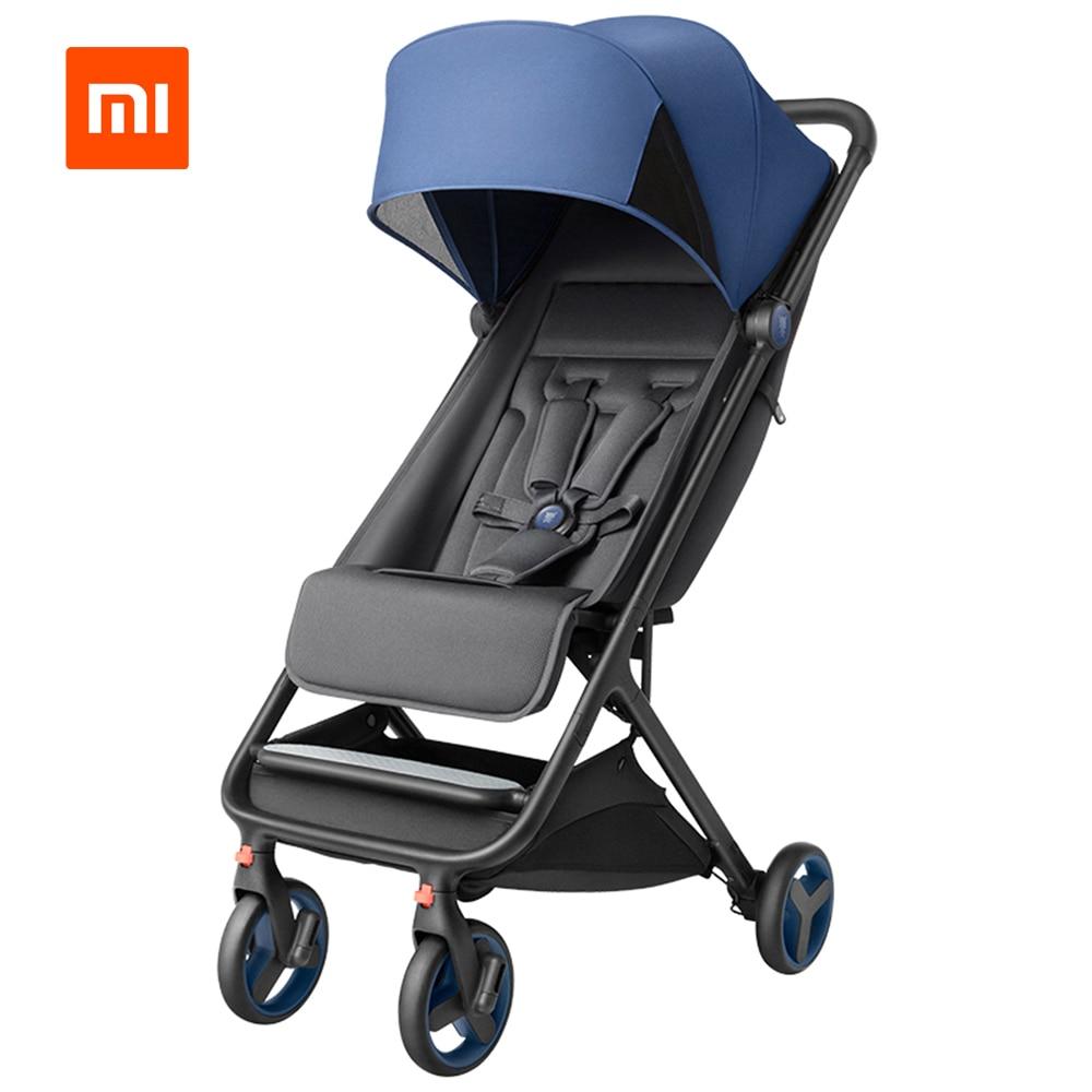 Xiaomi składany wózek dziecięcy samochód lekki przenośny wózek sterowanie jedną ręką cztery sezony użytkowania odporność na wstrząsy wózek dla dziecka