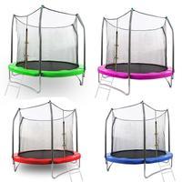 With Children Set Patio hoop Hoop Playground Patio Trampoline 12FT Basketball etc Safe Playground basketball