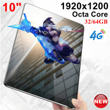 KUHENGAO New Updated 10 inch Google tablet MT6753 Octa Core 32GB/ 64GB IPS Tablets pcs 1920×1200 IPS Android 7.0 Nought 10 10.1