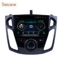 Seicane 9 Inch Android 8.1 Multimedia Player Car Radio For 2011 2012 2013 2015 Ford Focus Stereo Support Bluetooth WIFI USB OBD2