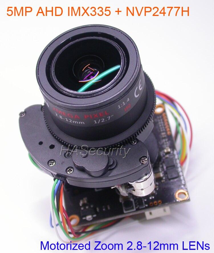 4.0MP 1440P OV4689 AHD TVI CVI CVBS 4 in 1 CCTV PCB Board Module OSD Cable