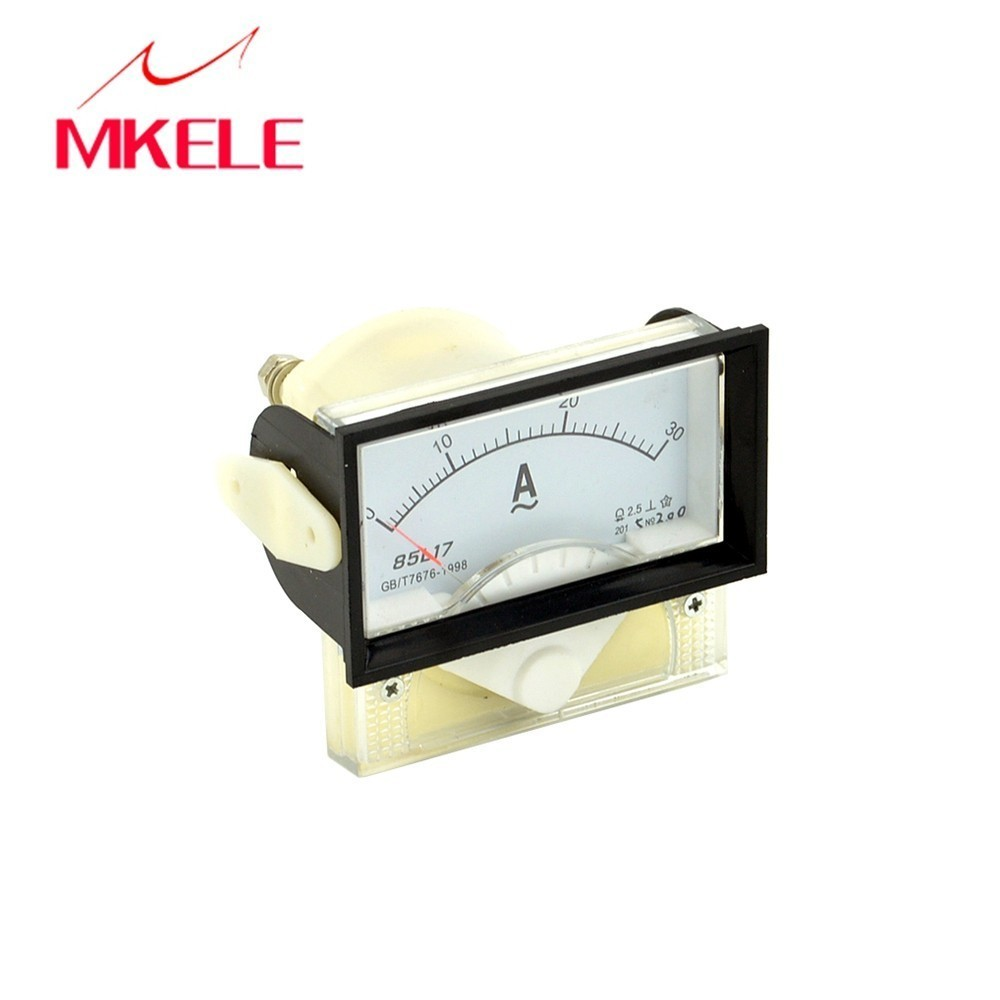 85L17 AC Analog Ammeter 40 70mm Panel Current Meter Ampere Pointer Diagnostic tool Ampermeter Tester Doesn 39 t Need Shunt Brand in Current Meters from Tools