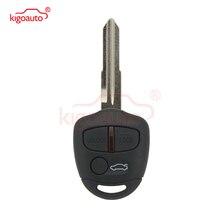 цена на Kigoauto Remote key 3 button 434Mhz  no chip MIT8 uncut blade for Mitsubishi Lancer CJ Sedan