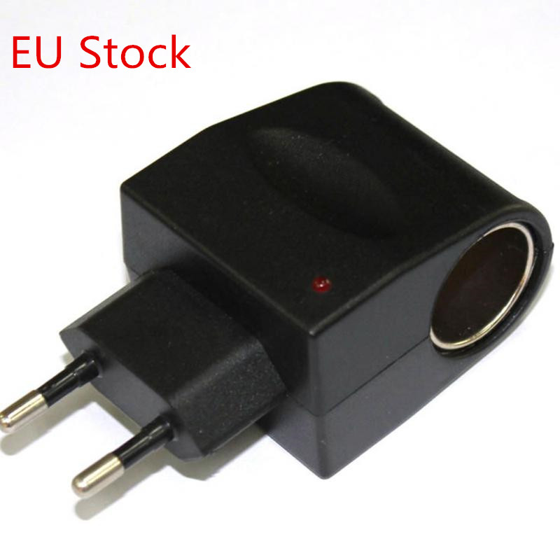 EU Stock <font><b>12V</b></font> Household <font><b>Car</b></font> Charger Cigar Cigarette Lighter 110V-220V to <font><b>12V</b></font> DC EU <font><b>Car</b></font> <font><b>Power</b></font> <font><b>Adapter</b></font> Converter image