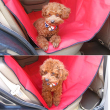 Dog Carriers Waterproof Rear Back Pet Dog Car Seat Cover Mats Hammock Protector With Safety Belt 2019 Hot Sale pet carriers oxford fabric pet car seat cover dog car back seat carrier waterproof pet mat hammock cushion protector