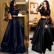 Новое модное женское черное кружевное вечернее бальное платье для выпускного вечера, официальное коктейльное свадебное длинное платье, Размеры s m l xl