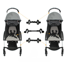 New 3-Piece Universal Connector Header Stroller Accessories Twin Detachable Lightweight Folding