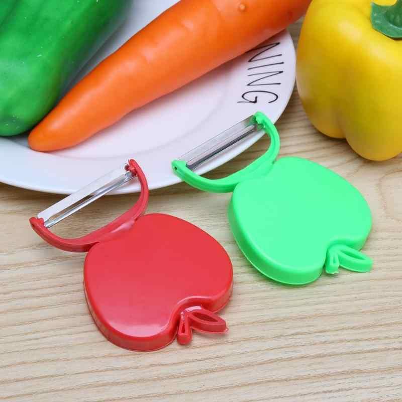 ใบมีดสแตนเลส Paring Peeler Melon เครื่องบิน Grater พับผักผลไม้มันฝรั่งแครอท Peeler ห้องครัวอุปกรณ์เสริม