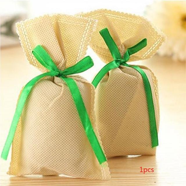 Natural Bamboo Wardrobe Smell Removing Charcoal Small Bag