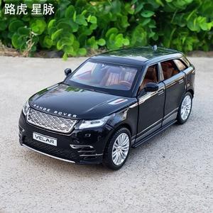 Image 1 - 1:32 Schaal Licensed Collection Car Model Voor Range Rover Velar Diecast Legering Metalen Luxe Suv Off Road Sound & licht Speelgoed Voertuig