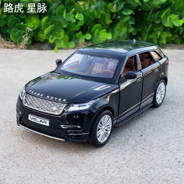 1:32 Schaal Licensed Collection Car Model Voor Range Rover Velar Diecast Legering Metalen Luxe Suv Off Road Sound & licht Speelgoed Voertuig