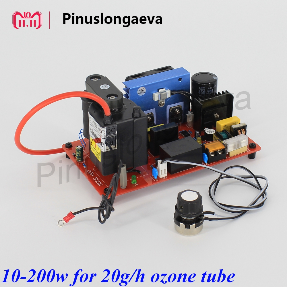 Pinuslongaeva 200w-1000w power supply for 20g 40g 60g 100g/h ozone tube adjustable High voltage power supply ozone spare parts new 450w high frequency high voltage power supply adjustable for ozone generator