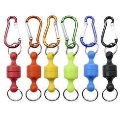 Mocne zapięcia magnetyczne sprzęt wędkarski Outdoor Sports wspinaczka bezprzewodowa lina retencyjna przenośna klamra w Narzędzia wędkarskie od Sport i rozrywka na
