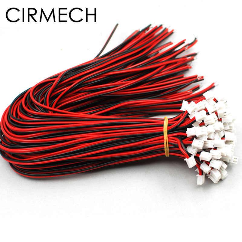 CIRMECH XH2.54 สีแดงสีดำคู่สำหรับ Speaeker