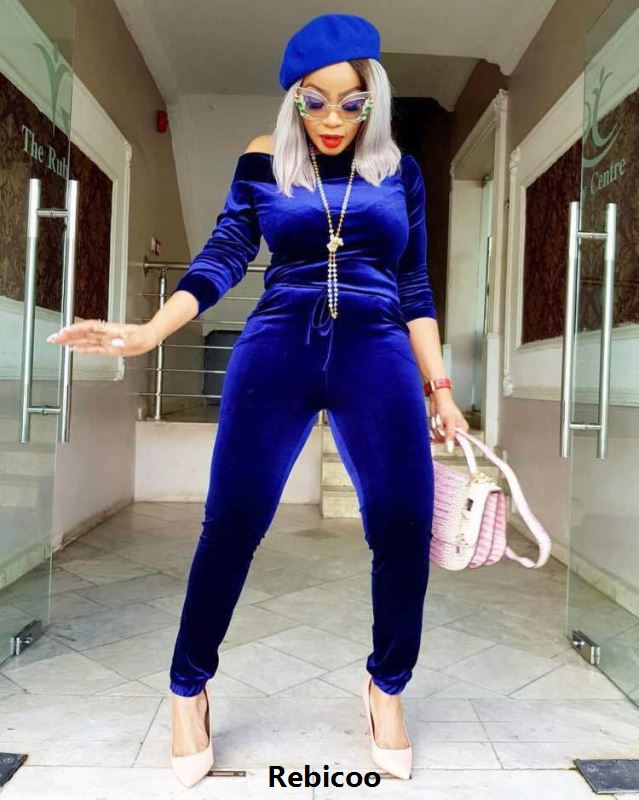 One Shoulder Sexy Plus Size Jumpsuit For Women Slash Neck Long Sleeve Velvet Bodycon Romper Autumn Winter Blue One Piece Catsuit