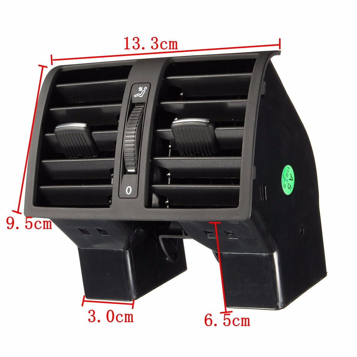 In Stock! Centre Console Rear AC Air Vent Outlet For VW Touran 2003-2015 Caddy 2004-2015 OEM Number 1T0819203