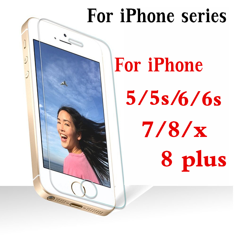 Screen-Protector Tempered-Glass Film-Aphone Ix S5-X-Protective-Protection 6s-Plus