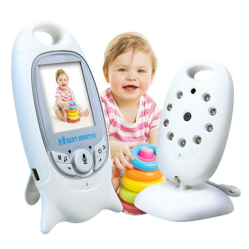 Wireless Baby Monitor Baby Voice Intercom Monitoring Care Device AUTO Night Vision And Temperature Monitoring Talkback SystemWireless Baby Monitor Baby Voice Intercom Monitoring Care Device AUTO Night Vision And Temperature Monitoring Talkback System