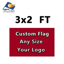 Custom Flag 3x2FT Customize LGBT Flag And Banners Sport Flag Advertising Camouflage Polyester 90*60 cm Free Design Christmas(China)