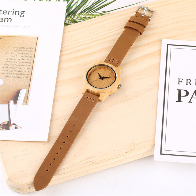 Unique Customized Engraved Wooden Watch Men's Quartz Wrist Watches Best Birthday Anniversary Gifts for Male reloj para hombre 5