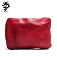 Leather Coin Purse Simple Fashion Small Wallet Silver Card Package Sports Light Weight Bag First Layer