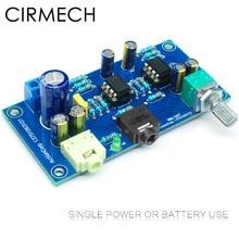 Earphone Amplifier 2-Channel HIFI Dc CIRMECH 47 Single-Power-Version