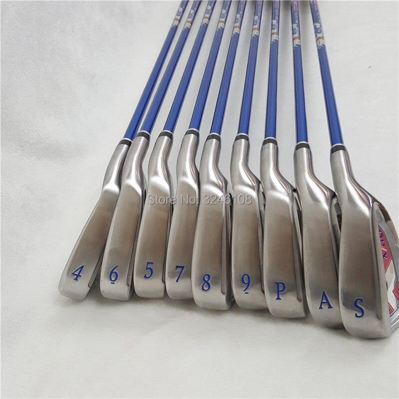 Femmes MP1000 de Fer Ensemble MP1000 Golf Fers Golf Clubs 4-9PAS L-Flex Graphite Shaft Avec la Couverture de Tête