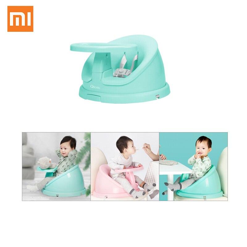 Xiaomi ménage multifonctionnel bébé chaise Portable enfant à manger chaise bébé chaise d'alimentation peut être nettoyé avec ceinture de sécurité