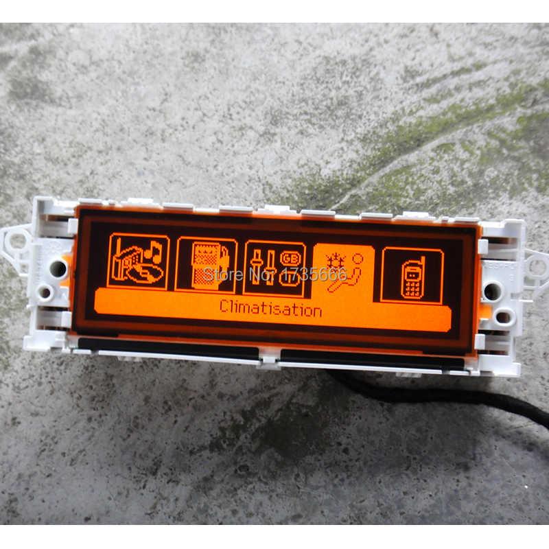 Blanco Original de pantalla Dual USB-zona aire Bluetooth pantalla 12pin para Peugeot 307 de 407 de 408 citroen C4 c5 pantalla