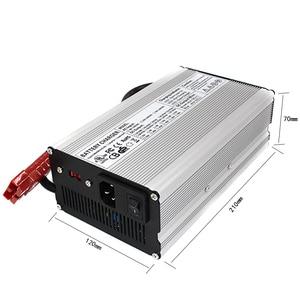 Image 5 - 54.6 V 10A リチウム充電器 48 V 10A 充電器 110/220 V に使用 13 S 48 V 40AH 50AH 80A 100A リチウムイオンバッテリーパック