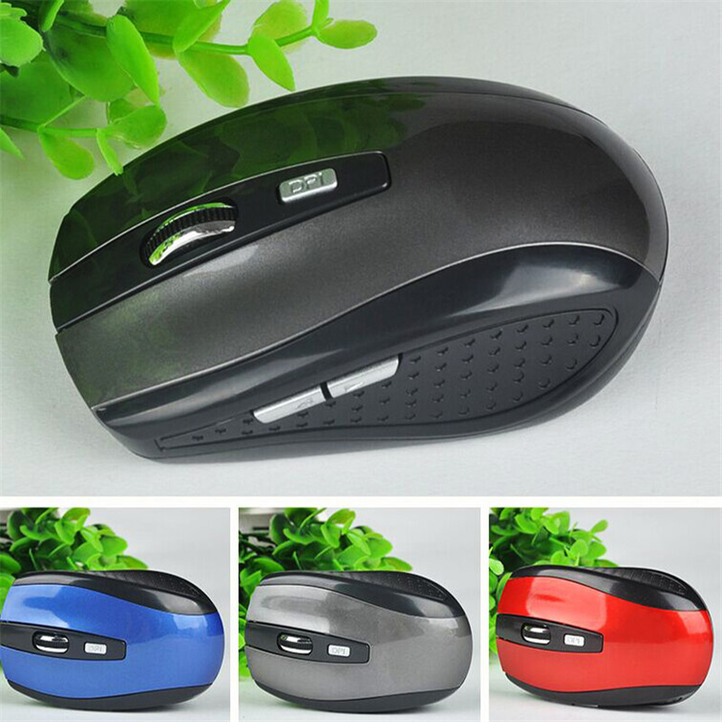 HJSS Mouse Wireless 2.4G Gaming Mice with USB Receiver Laptop Car Mouse Creative Computer Accessories Optical Mouse Wireless Battery Mouse