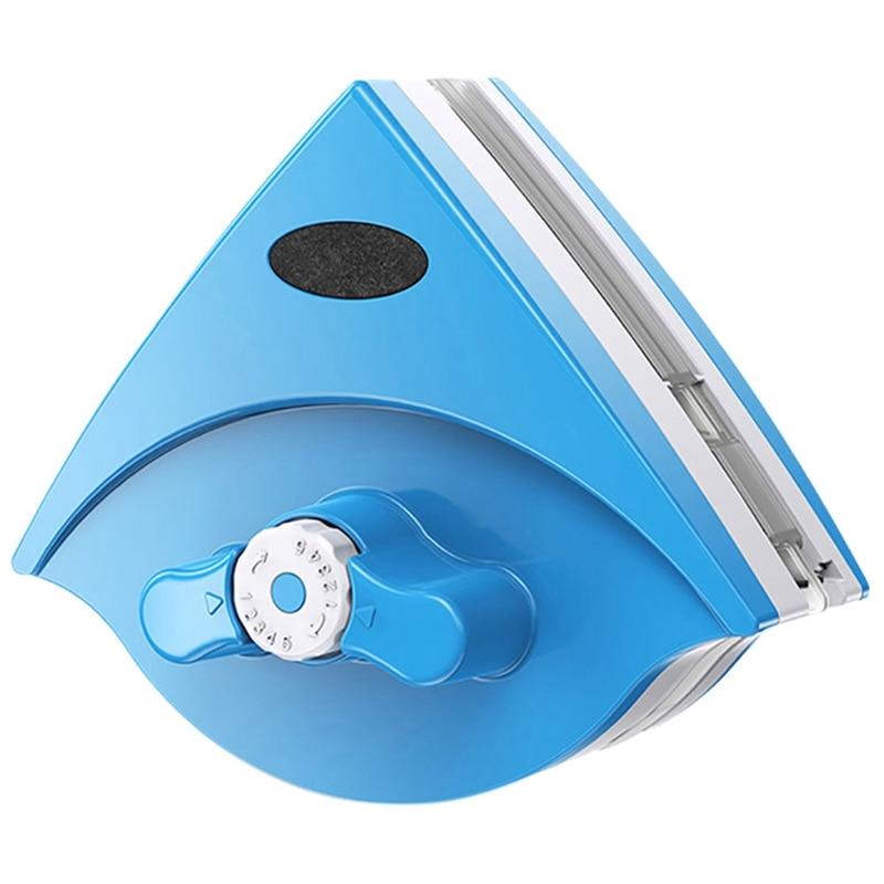Alarm Thuis Ruitenwisser Glas Cleaner Tool Double Side Magnetische Borstel Voor Wassen Windows Glas Borstel Gereedschap 5-25mm
