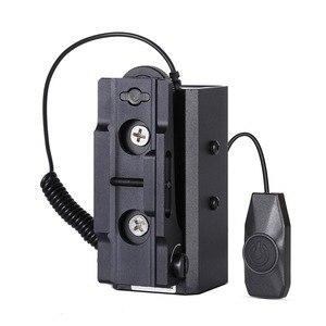 Image 5 - 700m aralığı bulucu ile ayarlanabilir kapsam dağı avcılık kapsamı için LE032 lazer telemetre 21mm ray optik taktik dişli