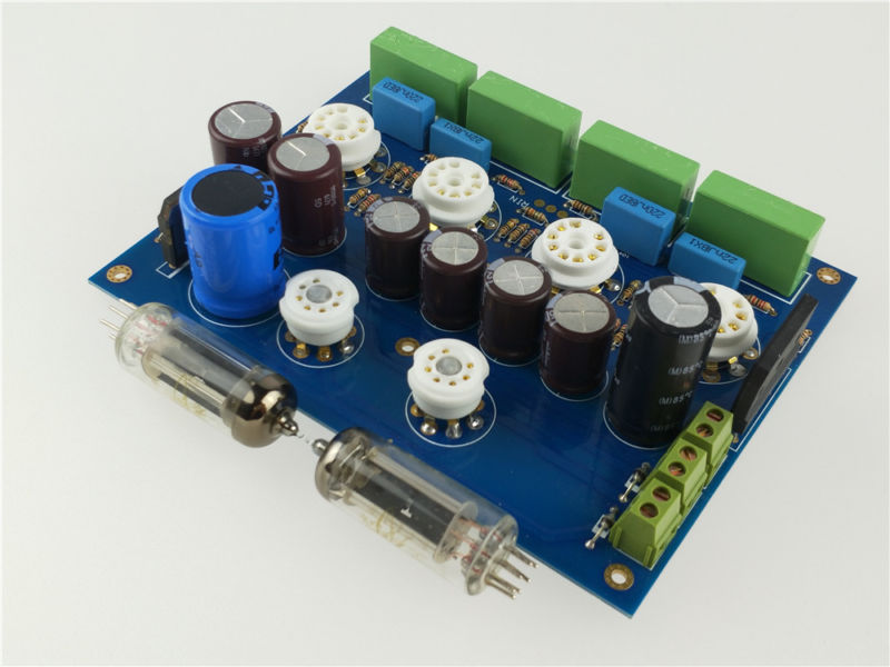 tube preamplifier preamp amplifier SRPP based on Marantz 7 classical circuit