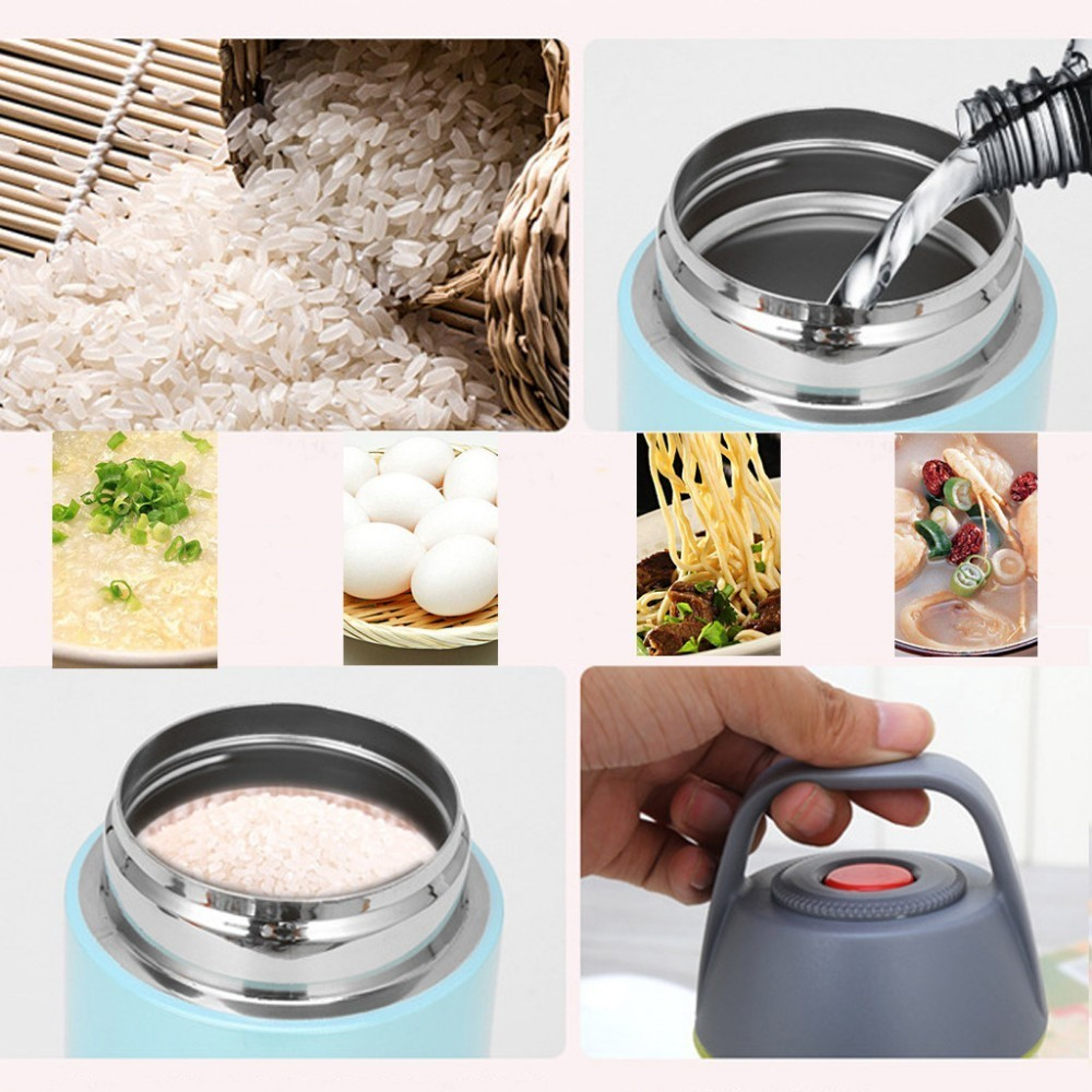Pot Beaker Soup Lunch Mini 304-Stainless-Steel Mug Bucket Vacuum Porridge Braised