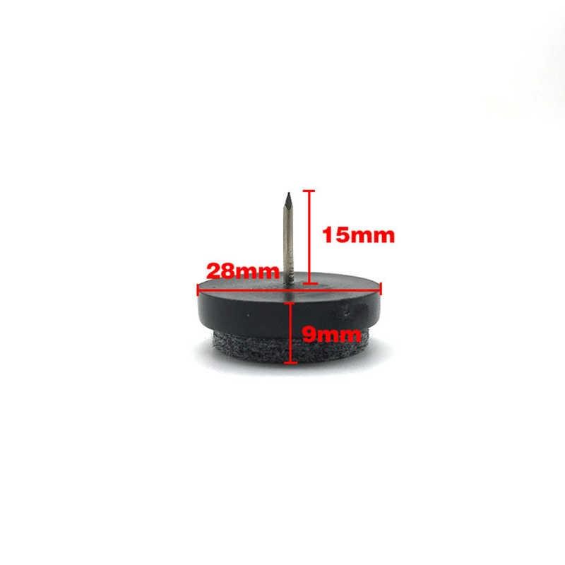 20 шт войлочные мебельные подушечки крышка стола/Ножка/стул защита для пола ногтей противоскользящие